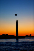 September's End 1 - Barnegat Lighthouse Sunset