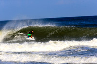 SURFING Harvey Cedars  Aug 13, 2014