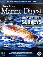 NJ Marine Digest 2014 cover