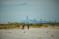 Sandy Hook, NJ  -Lower Manhattan looms -check this pic full screen for visual impact