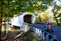 Loux Covered Bridge, Plumstead Township - 1874